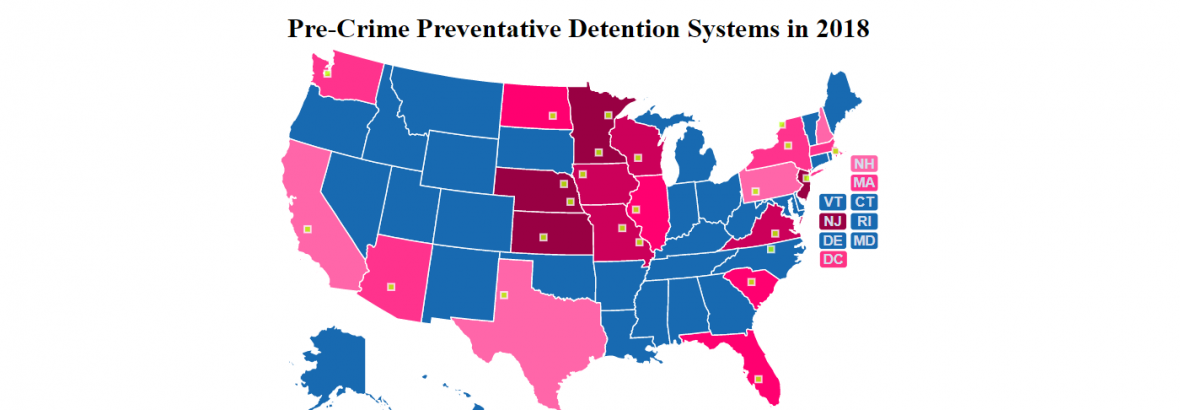 Pre-Crime Preventative Detention Systems in 2018